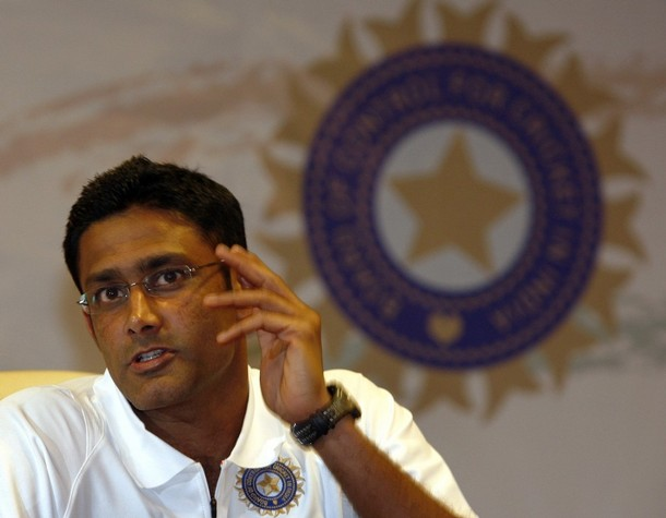 Kumble & Team India